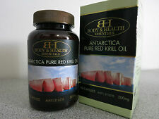 Body & Health Antartica Pure Red Krill Oil 500mg 90 Capsules