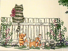 BABY KITTENS RETIRED (U get photo #2 L@@K@examples ART IMPRESSIONS RUBBER STAMPS