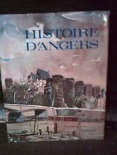 HISTOIRE D'ANGERS  ( Maine et Loire. Pays de Loire )  Monographie. Histoire