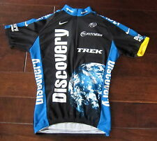 NICE team DISCOVERY CHANNEL lance armstrong CYCLING JERSEY medium ITALY