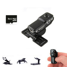 Mini 8GB MD80 DVR Sport DV Spy Hidden Security Pinhole Camera Video Recorder Cam