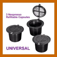3 NEW refillable Coffeeduck NESPRESSO UNIVERSAL Capsules Pods UK
