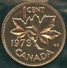 1973-PL Proof-Like Penny 1 One Cent 73 Canada/Canadian BU Coin UNC Un-Circulated