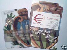 2009 2 euro SAN MARINO Anno Innovazione Creatività Saint Marin Сан - Марино