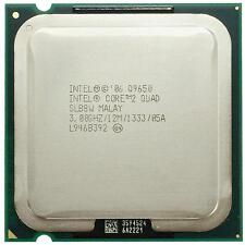 Intel® Core™2 Quad Processor Q9650  12M Cache, 3.00 GHz, 1333 MHz FSB LGA775
