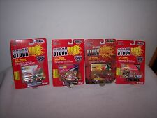 RACING CHAMPIONS - 4 CAR LOT - NASCAR- STOCK RODS -3 GOLD SERIES - NEW -