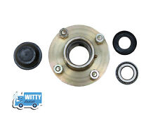 "Trailer Wheel Hub & Taper Bearings 1"" - 4 stud, 100 mm PCD with Caps and Nuts"