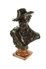 "Rubens 19"" Bronze Bust sculpture by H. Muller-Signed"