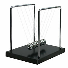 US Stock Large Newton Cradle Balance Balls Science Psychology Puzzle Desk Toy