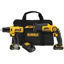 12-Volt Max Lithium-Ion Drill/Driver and Reciprocating Saw Combo Kit (2-Tool)