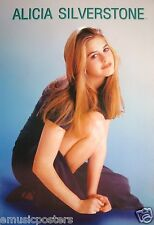 "ALICIA SILVERSTONE ""ON ONE KNEE & SHOWING LEG"" POSTER- Clueless, Aerosmith Vixen"