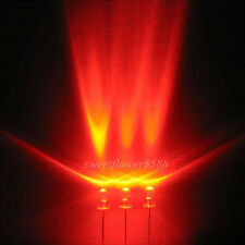 100pcs 3mm Red LED Lamps 5000mcd Ultra Bright Led Light Bulb New Free Shipping