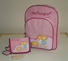 Nici Little Wingels Set Kindergartenrucksack und Brustbeutel Backpack Geldbörse