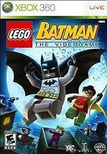 LEGO Batman: The Videogame (Microsoft Xbox 360, 2008) GOOD