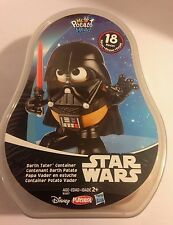 New/Sealed Star Wars Mr Potato Head Darth Vader Tater Container Disney/Playskool