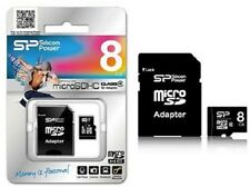 Scheda Di Memoria Memory Card MicroSd HC Class 4 8GB Silicon Power hsb