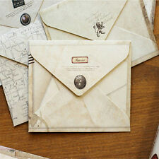 12pcs/Set Retro Design Office Kid Holiday Stationery Mini Paper Ancient Envelope