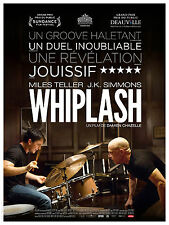 WHIPLASH Affiche Cinéma / Movie Poster Damien Chazelle 160x120 JAZZ Batterie