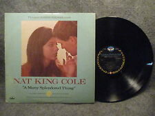 33 RPM LP Record Nat King Cole A Many Splendored Thing Living Sound SY 5161