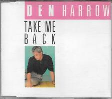"DEN HARROW - RARO CDs GERMANY 1989 "" TAKE ME BACK """