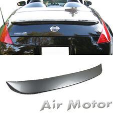 Painted for Fairlady Z 350 Z33 2D OE Type Trunk Boot Spoiler Rear Wing 03+