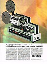 PUBLICITE  1969   HEURTIER  bifilm 8 PLUS  SUPER 8