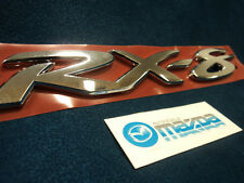 MAZDA RX-8 NEW OEM REAR RX-8 NAME  EMBLEM