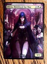 Magic the Gathering MTG Altered art Olivia, Mobilized for War