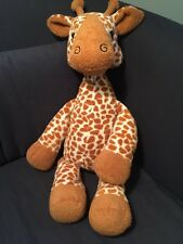 "Circo Giraffe Floppy Plush Target Ivory & Brown Replacement  Lovey 21"" 2013"