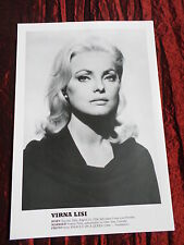 VIRNA LISI - FILM STAR - 1 PAGE  PICTURE- CLIPPING/CUTTING