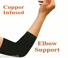Copper Comfort Copper Infused Elbow Compression Sleeve Support Brace Joint Pain