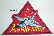 US. Air Force `F-16 AGGRESSOR`  Cloth Badge / Patch (F16-4)