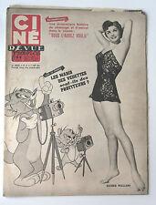 CINE-REVUE 5 juin 1953 ESTHER WILLIAMS MARTINE CAROLE MARILYN MONROE CROSBY