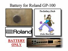 Battery for Roland GP-100 Guitar Preamp/Processor - Internal Replacement Battery