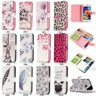 9 Card Fashion Pretty Printed Wallet Flip PU Leather Case Soft Cover For Phone