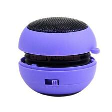 Mini Burger Boombox USB PC Dedicated Subwoofer Rechargeable Speaker