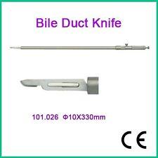 Brand New Bile Duct Knife ø10x330mm Laparoscopy CE Approved High Quality AA