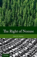 The Right of Nonuse, Laitos, Jan G.