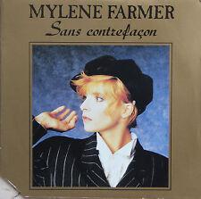 """Vinyle 45T Mylène Farmer  """"Sans contrefaçon"""""""