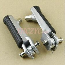 Motorcycle Front Footrests Foot Pegs For Honda CBR400 NC29 / VFR400 NC30