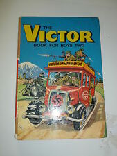 THE VICTOR BOOK for BOYS - Annual - Year 1973 - UK Annual ( Price Tab Intact)