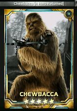 Star Wars Force Collection Chewbacca  [AHR] 5 star base Guide to Obtain