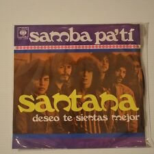 "SANTANA - SAMBA PA TI - 1971 MEXICO 7"" SINGLE"