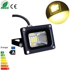 10W Warm White LED Flood Light IP65 Garden Security Landscape Lamp DC 12V