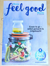 Weight Watchers Meine Feel Good Woche 13.3-19.3 SmartPoints 2016 Wochenbroschüre