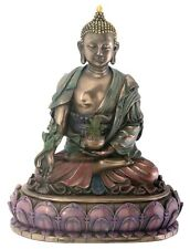 Medicine Buddha - Buddha of Healing Statue Sculpture Figurine *DESKTOP *DISPLAY