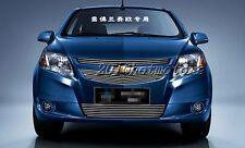 3pcs Aluminum Alloy Front Grill Grille Cover Trim For 2011-2013 Chevrolet Sail