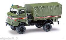Busch 95216, ESPEWE:  IFA W50 LA/A »Kommandantendienst«, H0 Fahrzeug Modell 1:87