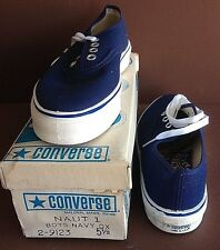 "Converse ""Nautilus"", USA made, 1975 in Orig. Box, Unworn, Boat Shoe, Size 1"