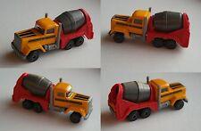 Majorette - LKW / US-Truck Betonmischer gelb/rot